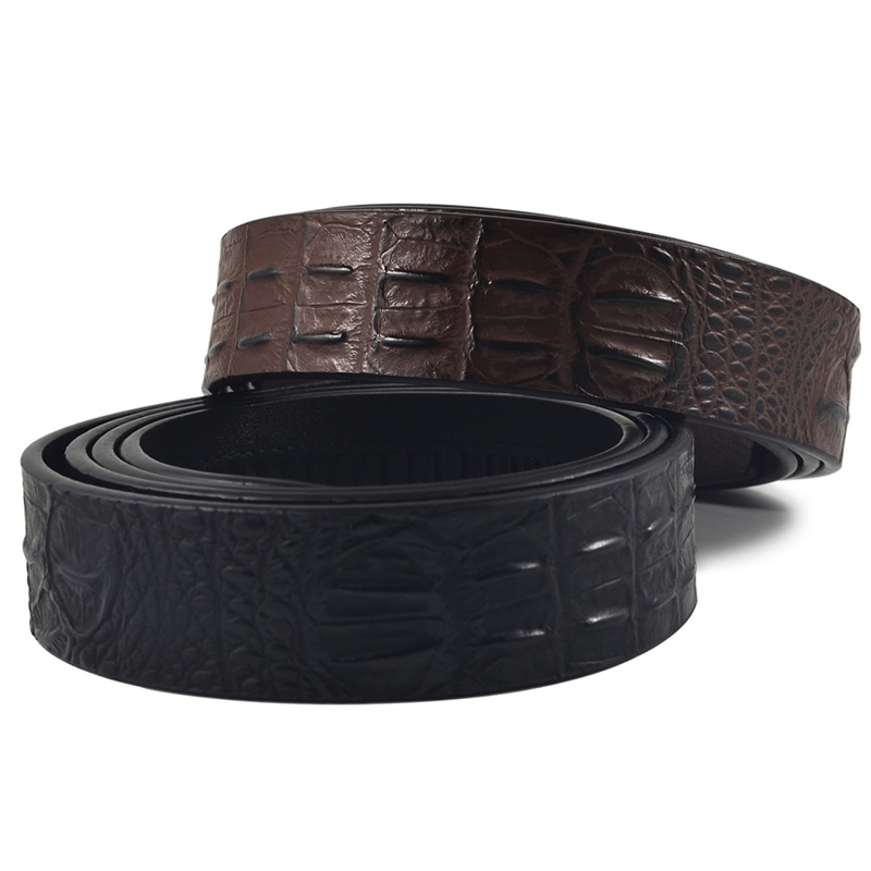 Ericdress Crocodile PatternCowhide Belt
