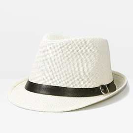 Ericdress Summer Straw Boater Hat