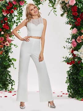 Ericdress Two Pieces Wedding Jumpsuit