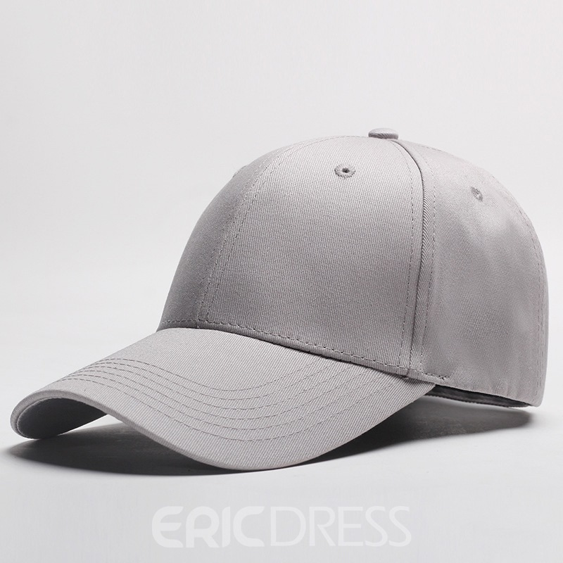 Ericdress Solid Color Baseball Cap