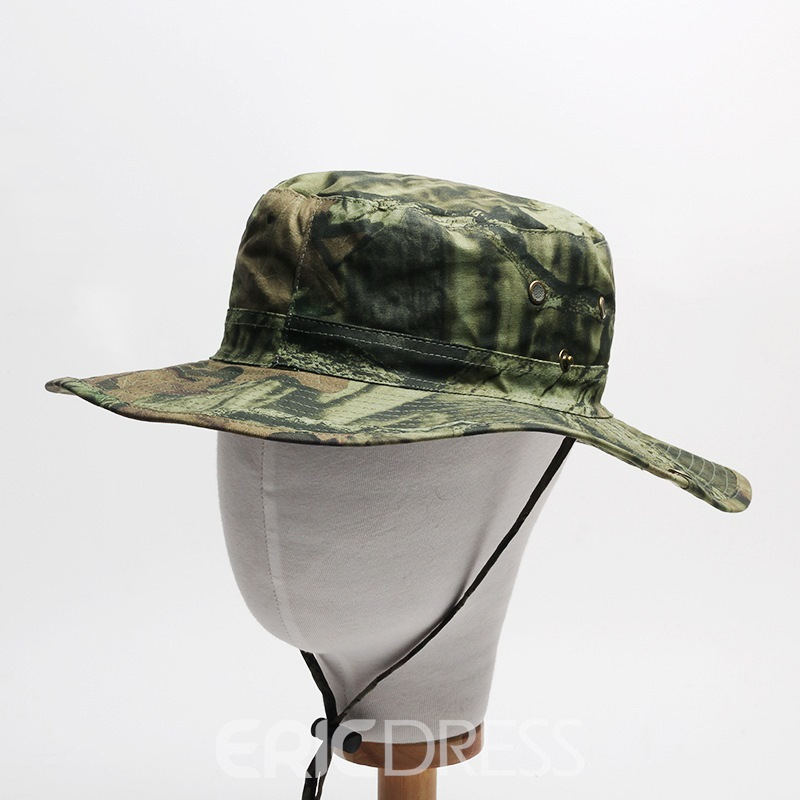 Ericdress Camouflage Pattern Bucket Hat