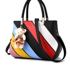 Ericdress Color Block Patchwork Women Handbag