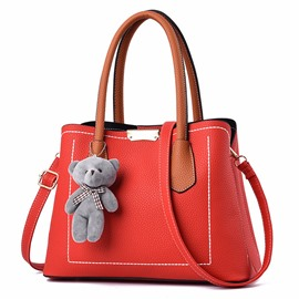 Ericdress Solid Color Women Handbag