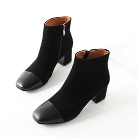 Ericdress Faux Suede Chunky Heel Women's Ankle Boots