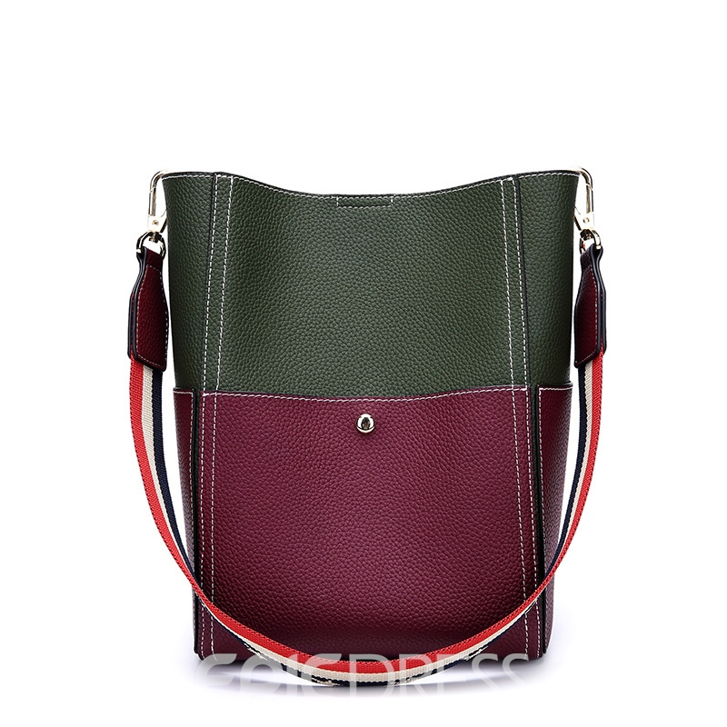 Ericdress Big Capacity Barrel Shaped Shoulder Bag