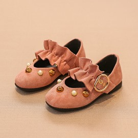 Ericdress Beads Plain Kids Shoes