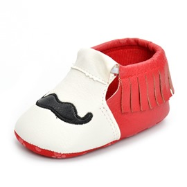 Ericdress Fringe Color Elastic Band Toddler Shoes