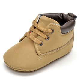 Ericdress Plain PU Toddler Shoes