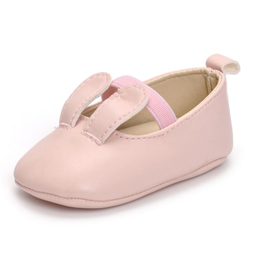Ericdress PU Plain Elastic Band Baby Toddler Shoes