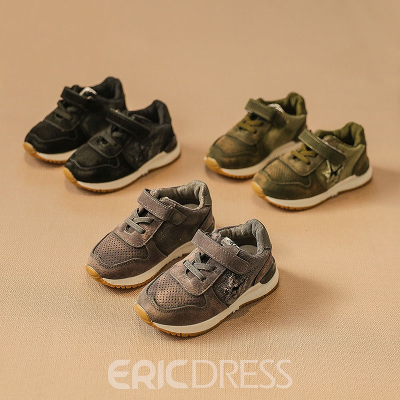 Ericdress Velcro Plain Kids Shoes