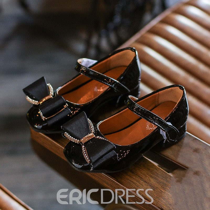 Ericdress Bow Velcro Kids Shoes