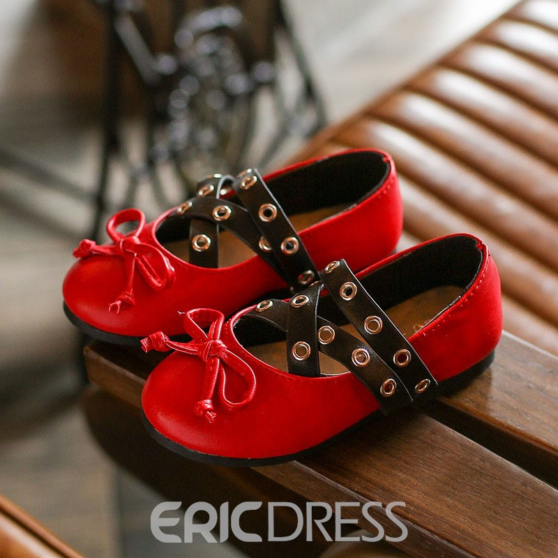Ericdress PU Slip-On Kids Shoes