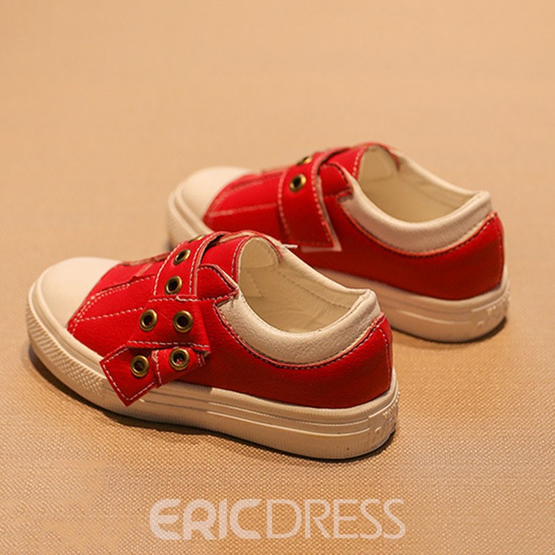 Ericdress Plain Velcro Kids Shoes