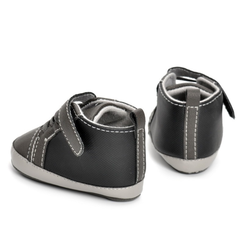 Ericdress PU Velcro Elastic Band Toddler Shoes