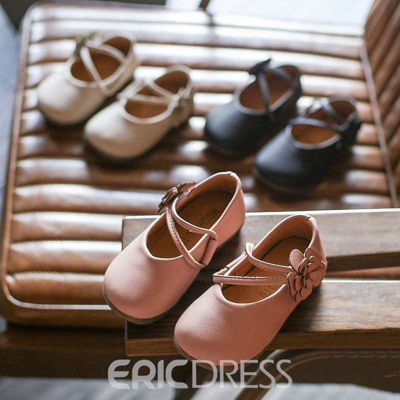 Ericdress Floral Velcro Kids Shoes