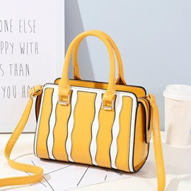 Ericdress Modern Stripe Zipper Women Handbag