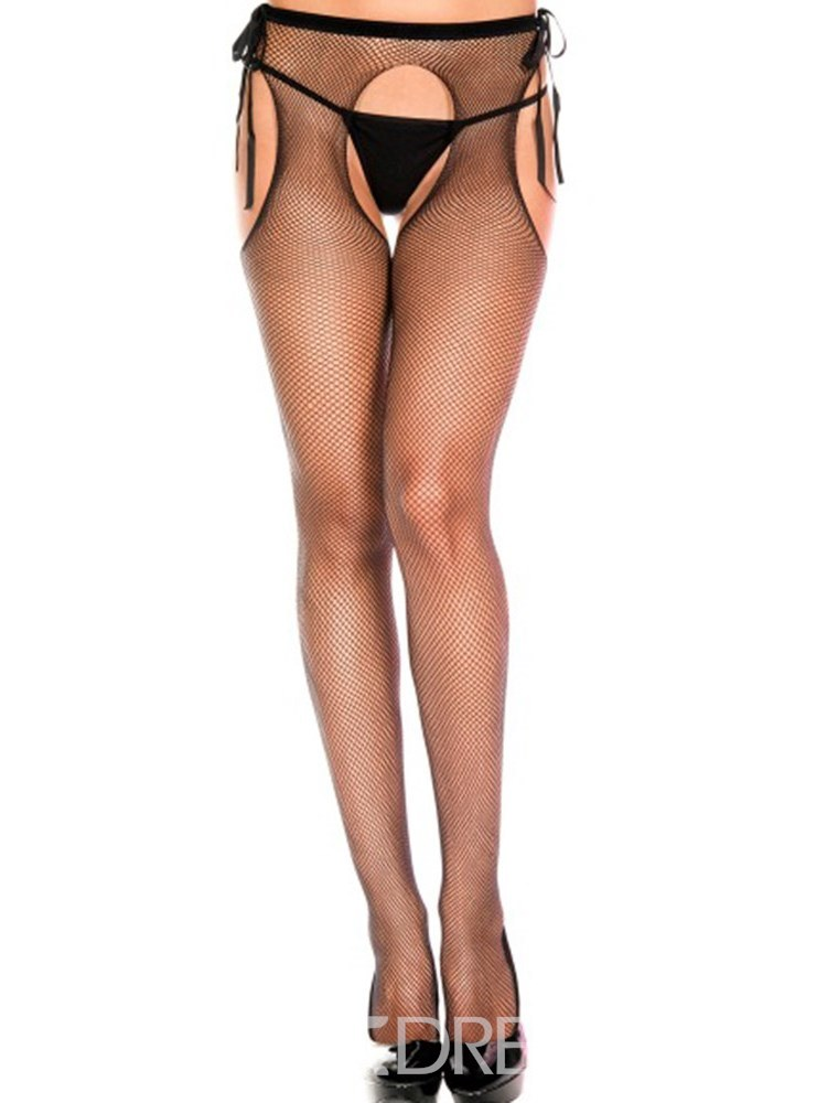 Ericdress Small Mesh Three-hole Sexy Pantyhose