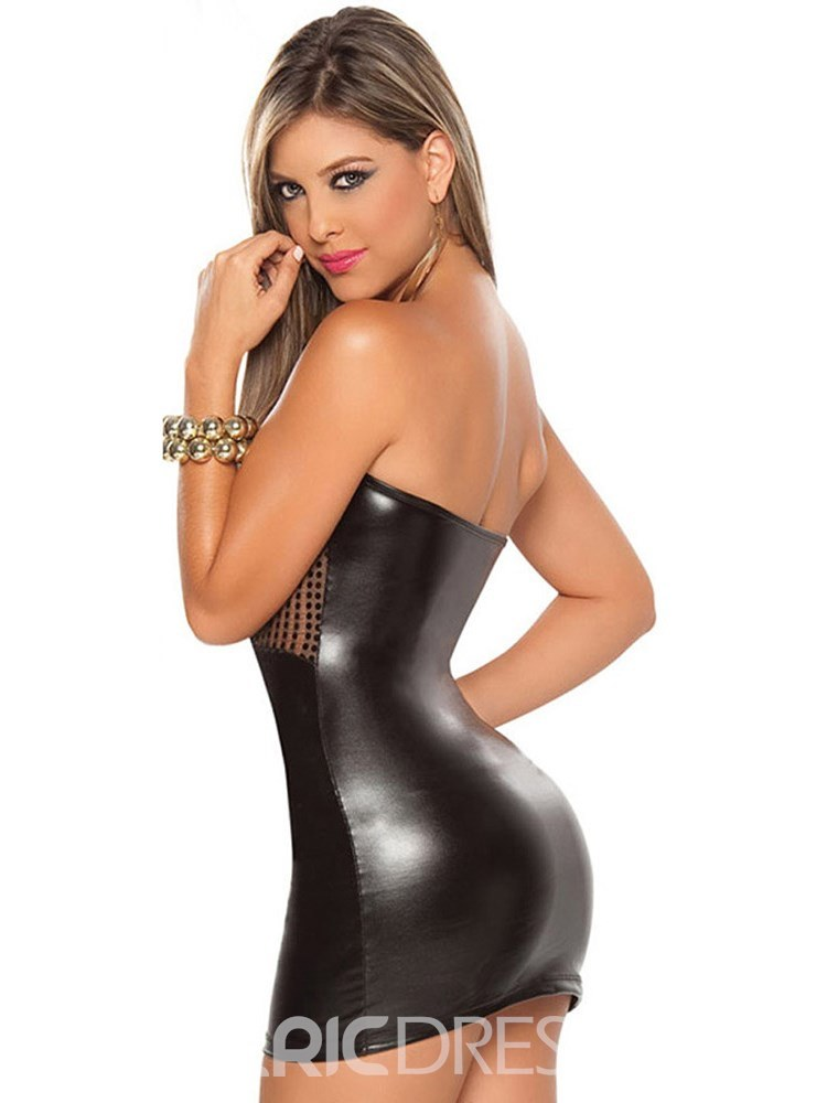 Ericdress Sleeveless Sexy Ultra-short Tight Short Dress