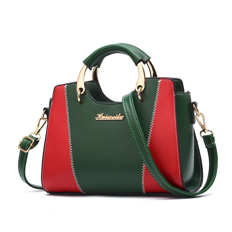 Ericdress Casual Color Block Patchwork Handbag