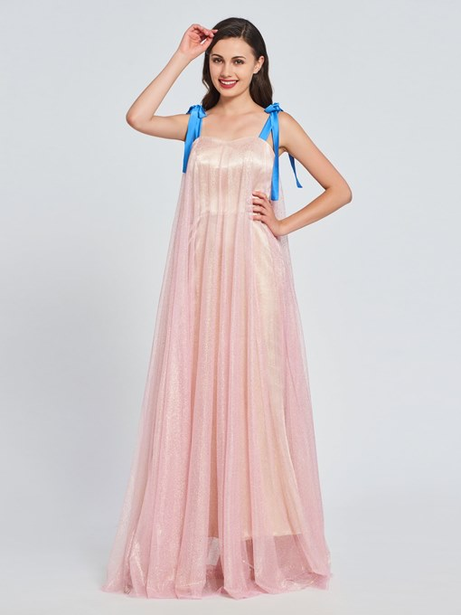 Ericdress A Line Straps Long Prom Dress