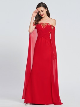 ericdress robe de bal rouge