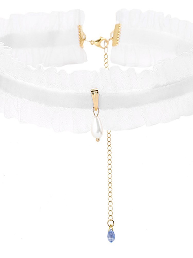 Ericdress Sexy Accessories Pleated Clavicle Chain Necklace