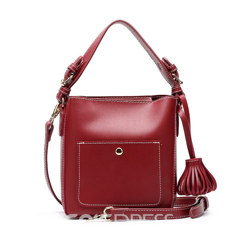 Ericdress Elegant Barrel Shaped Women Handbag