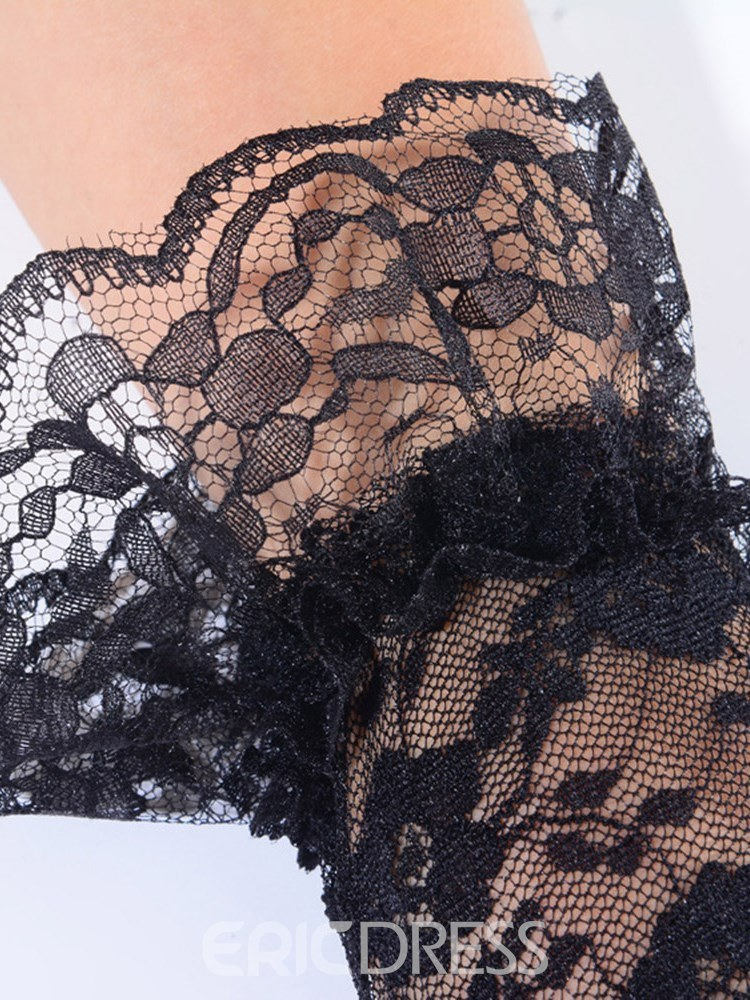Ericdress Sexy Accessories Lace Blindfold Handcuffs 3 Pieces