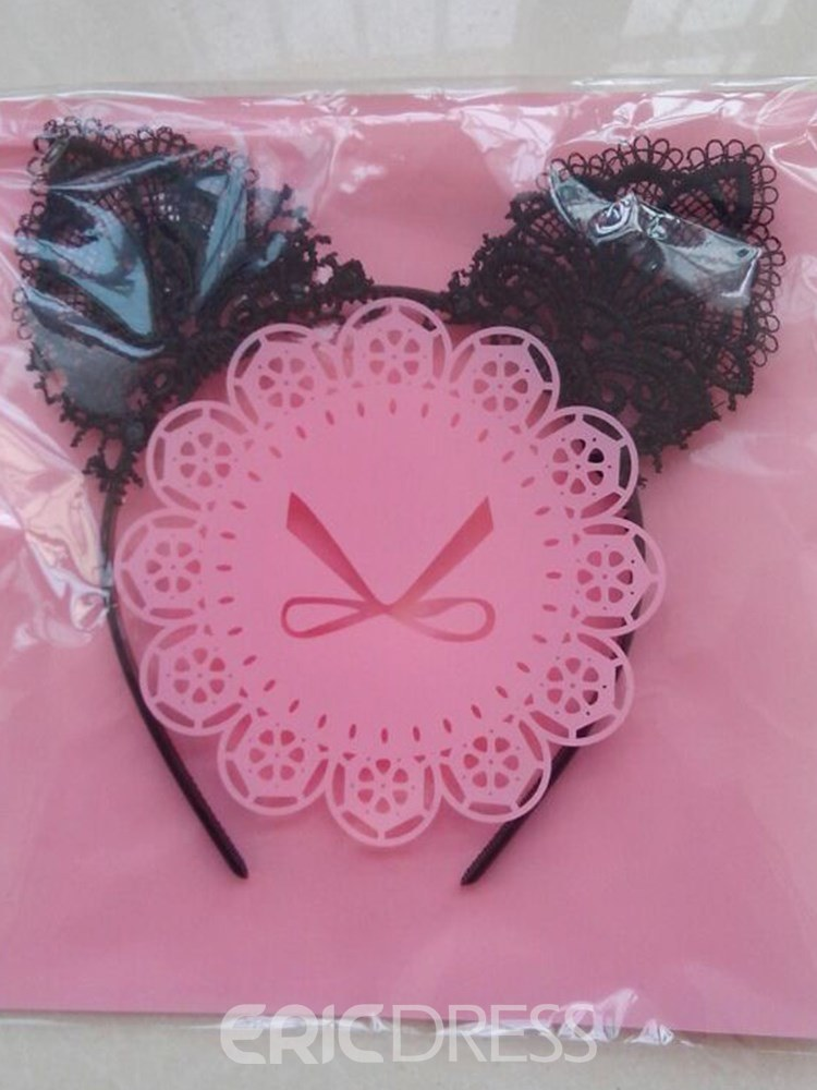 Ericdress Lace Cat Ears Hair Accessories