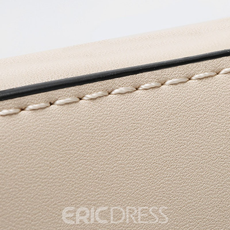 Ericdress Fresh Rivets Adornment Lock Handbag