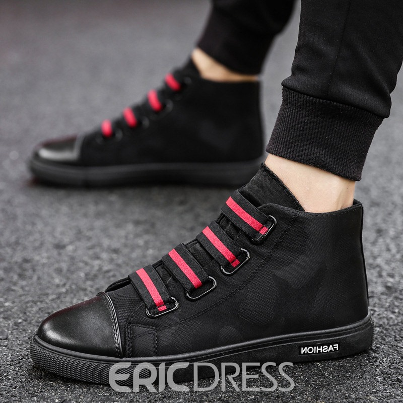 Ericdress Canvas High-Cut Upper Men's Casual Shoes