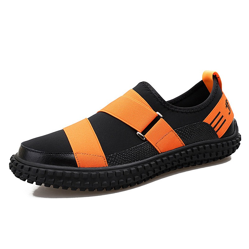 Ericdress PU Patchwork Slip-On Men's Shoes