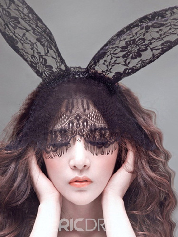 Ericdress Veil Rabbit Ears Hair Accessories