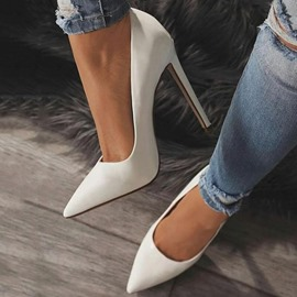 Ericdress PU Pointed Toe Stiletto Heel Pumps