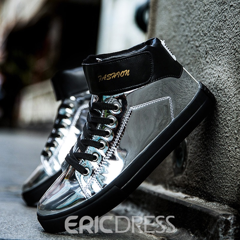 Ericdress Velcro Mid-Cut Upper Men's Skater Shoes