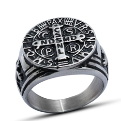 Ericdress Cross Mens Ring