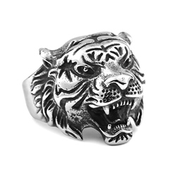 Ericdress Animals Tiger Men Ring