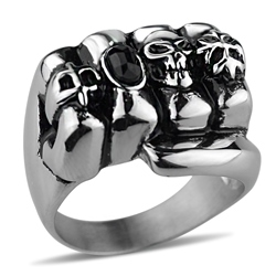 Ericdress Fist Mens Ring