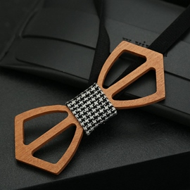 Ericdress Grid Bowknot Bow Tie