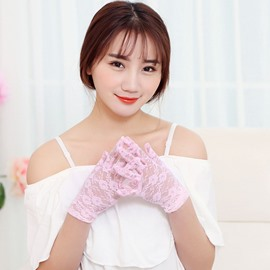 Ericdress Sun Protection Lace Gloves