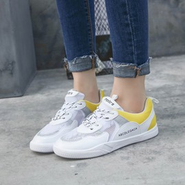 Ericdress Color Block Patchwork Lace-Up Women's Sneakers