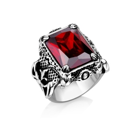 Ericdress Gem Retro Men's Ring
