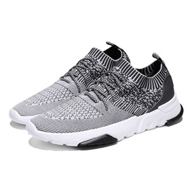 Ericdress Lace-Up Round Toe Mid-Cut Men's Athletic Shoes