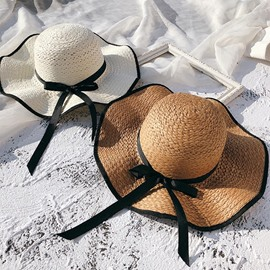 ericdress vague large bord sunhat