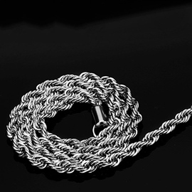 Ericdress Stainless Steel Twisting Necklace