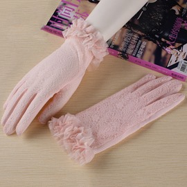 Ericdress Bowknot Flowers Women's Gloves