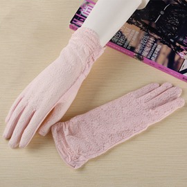 Ericdress Lace Bowknot Gloves