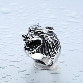 Ericdress Animals Wolf Ring