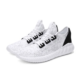 Ericdress Mesh Lace-Up Plain Low-Cut Men's Sneakers