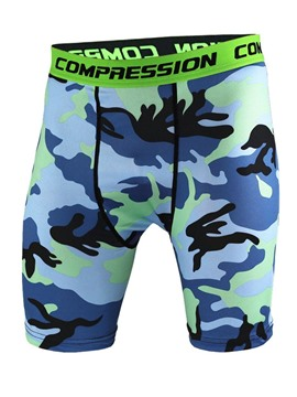 Ericdress Men Camouflage Summer Shorts Sport Pants